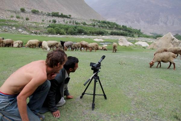 natáčení ve Wachanském údolí